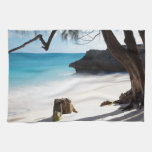 Playa tropical toallas de cocina
