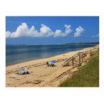 Playa Truro de la bahía de Cape Cod Postal