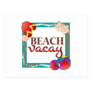 Playa Vacay Tarjetas Postales