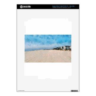 Playa vacía en Virginia iPad 3 Skins