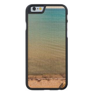 Playa vacía funda de iPhone 6 carved® de arce