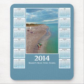 Playa Venecia la Florida de Sharkeys del calendari Alfombrilla De Ratón
