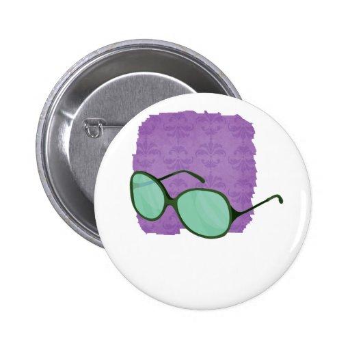 playa verde wear.png de las gafas de sol pin redondo 5 cm