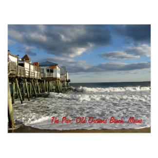Playa vieja de la huerta, postal de Maine