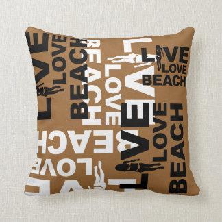 Playa viva del amor cojines