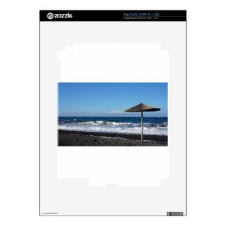 playa volcánica calcomanías para el iPad 2