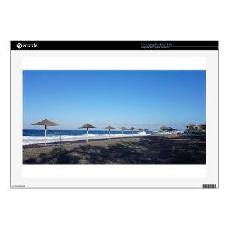 playa volcánica portátil calcomanías