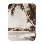 Playa WWII R&R de Waikiki del palacio del rosa del Imanes