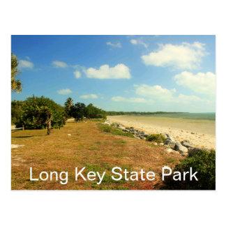 Playa y argumentos, parque de estado dominante lar tarjetas postales
