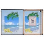 Playa y cielos azules iPad coberturas
