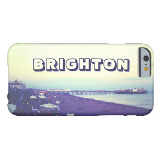 Playa y embarcadero, Reino Unido de Brighton Funda Barely There iPhone 6