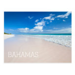 Playa y mar del Caribe Postal