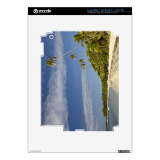 Playa y palmeras, centro turístico isleño de la pl pegatinas skins para iPad 3