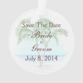 Playa y palmeras que casan reserva la fecha