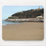 Playa y Puerto de Donostia - San Sebastián. Mouse Pad