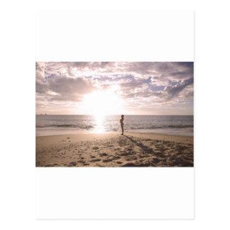 Playa y vida postal