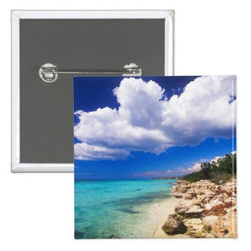 Playas, Barahona, República Dominicana, 2 Pin Cuadrado