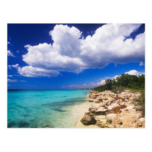 Playas, Barahona, República Dominicana, 2 Tarjetas Postales
