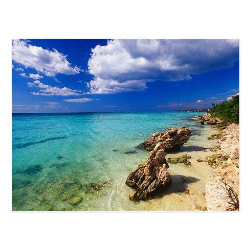 Playas, Barahona, República Dominicana, 3 Tarjeta Postal