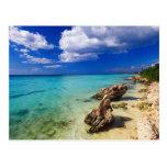 Playas, Barahona, República Dominicana, 3 Tarjetas Postales