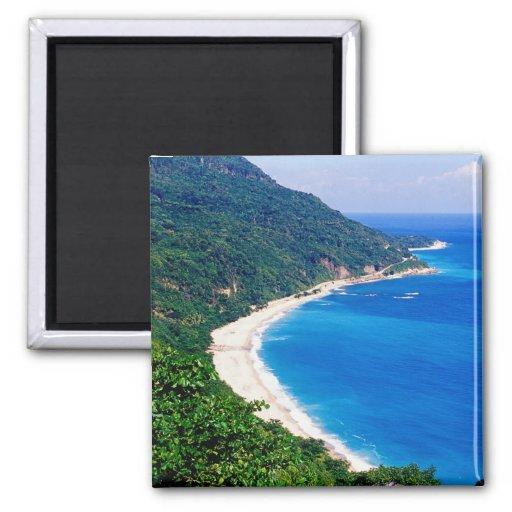 Playas, Barahona, República Dominicana, Imán Para Frigorifico