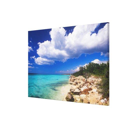 Playas, Barahona, República Dominicana, Lona Envuelta Para Galerias