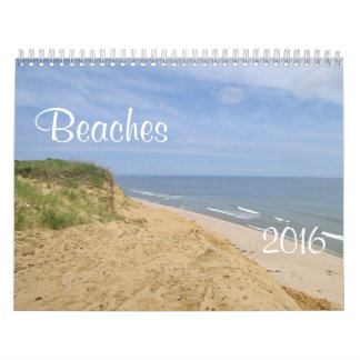 Playas Calendario De Pared