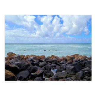 Playas de Honolulu Tarjeta Postal