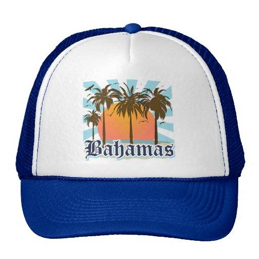 Playas de las islas de Bahamas Gorras De Camionero