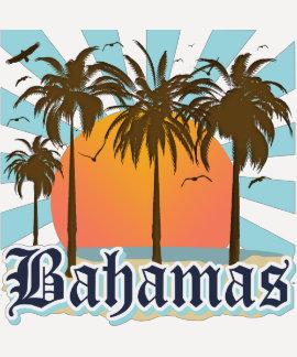Playas de las islas de Bahamas Camiseta