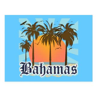 Playas de las islas de Bahamas Postal