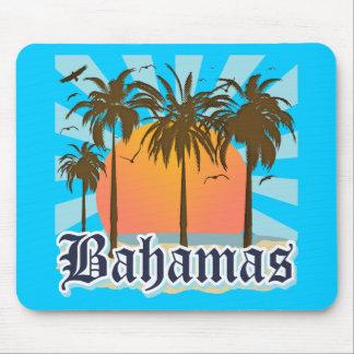 Playas de las islas de Bahamas Alfombrillas De Ratones