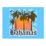 Playas de las islas de Bahamas Tarjetas Postales