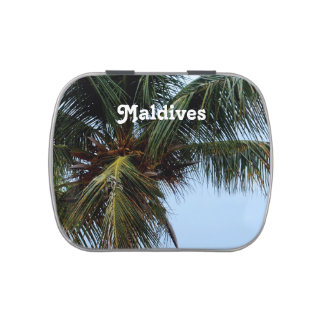 Playas de Maldivas Frascos De Dulces