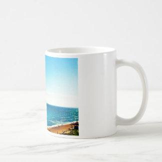 Playas de Nueva Inglaterra Taza Clásica