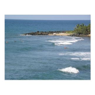 Playas de Puerto Rico Ricon Tarjeta Postal