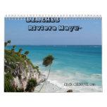 Playas del calendario del maya de Riviera