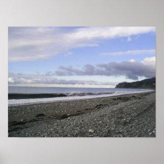 Playas divinas de Alaska Posters