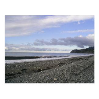 Playas divinas de Alaska Tarjetas Postales