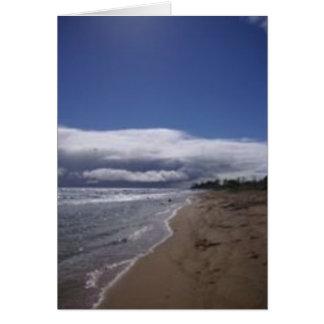 Playas en Hawaii - haciendo turismo en Kauai Tarjeta De Felicitación