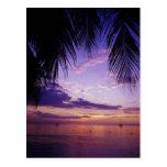 Playas en Negril, Jamaica 2 Postal