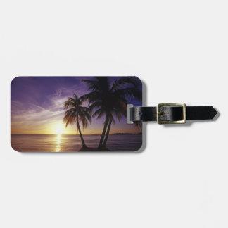 Playas en Negril, Jamaica 3 Etiquetas De Equipaje