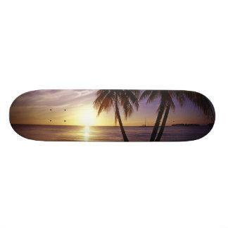 Playas en Negril, Jamaica 3 Patinetas Personalizadas