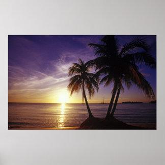 Playas en Negril Jamaica 3 Posters