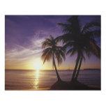 Playas en Negril, Jamaica Cuadro