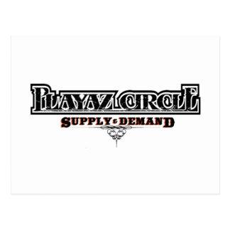 Playaz Circle Postcard