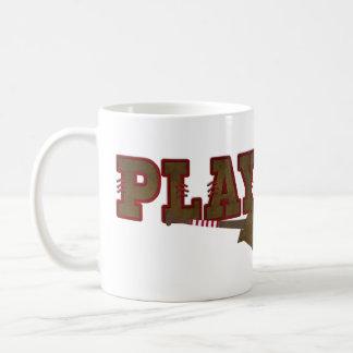 Playball Baseball Coffee Mug