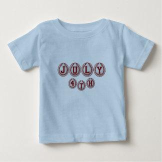 Playball-July 4th Baby T-Shirt
