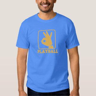 playball logo dark tshirt