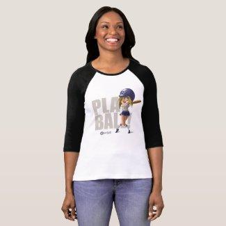 Playball pinup hitter T-Shirt